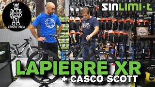 Lunes en Sinlimi-T:  Lapierre XR 6.9 2020 + Scott ARX Plus