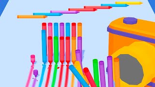 Pencil Rush 3D - Level 21-31 Gameplay Android, iOS