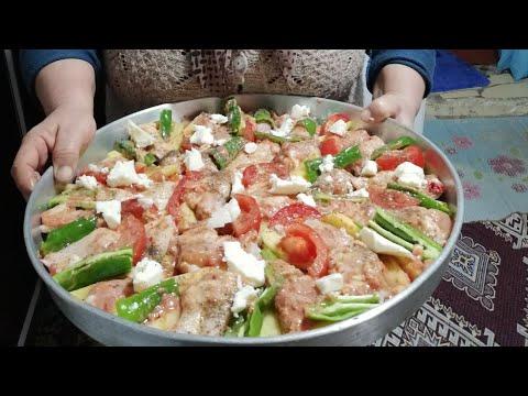 Fırında tavuk kanat kızartması tarifi Şadiye anne yemekleri