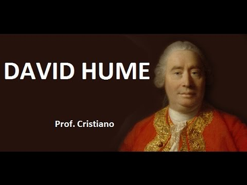 DAVID HUME: EMPIRISMO E CETICISMO TEÓRICO CIENTÍFICO