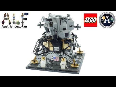 Vidéo LEGO Creator 10266 : NASA Apollo 11 Lunar Lander