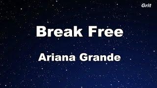 Break Free - Ariana Grande Karaoke【With Guide Melody】