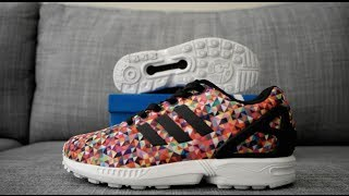 adidas ZX Flux Prism Multicolor Review & On Feet