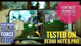 fortnite android gameplay redmi note 5 pro - TH-Clip