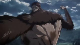 Beast Titan Throws The Colossal Titan | Attack On Titan Season 3 | Eng Sub