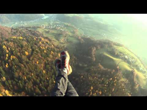 Vešerni polet s Kamniškega vrha