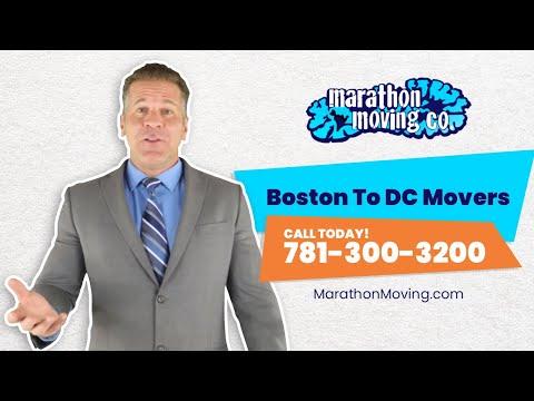 Boston To DC Movers   781-300-3200   Marathon Moving