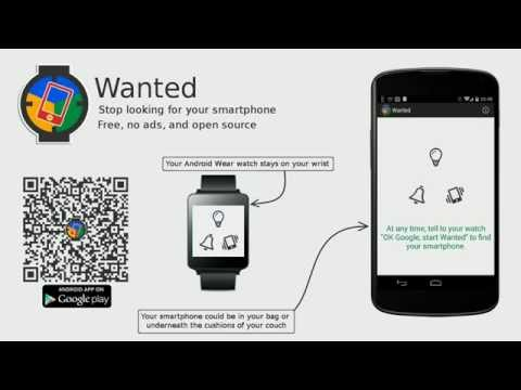 Video of Wanted : Phone Finder for Wear