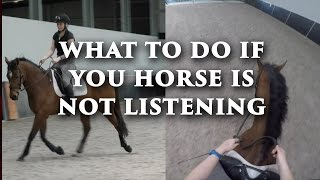 What to do When Your Horse is Not Listening - Dressage Mastery TV Ep 123