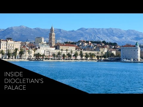 Inside Diocletian's Palace: A Walking To