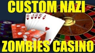 Custom Nazi Zombies CASINO Live Commentary Part 1 And 2  (DOWNLOAD LINK IN DESCRIPTION)