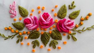 Hand Embroidery: Brazilian Embroidery/Bullion Knot