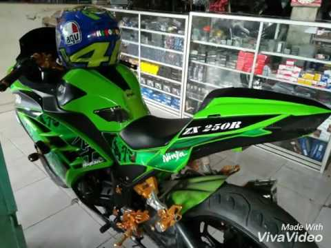 Video Modifikasi Ninja250