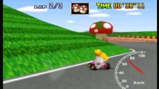 "MK64 - World Record on Mario Raceway - 1'27""74* (NTSC: 1'12""97) by Daniel Burbank"