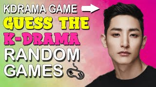 KDRAMA GAME - GUESS THE KDRAMA BY RANDOM GAMES