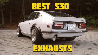ULTIMATE Nissan S30 Datsun 240z 260z 280z Exhaust Engine Sound Compilation