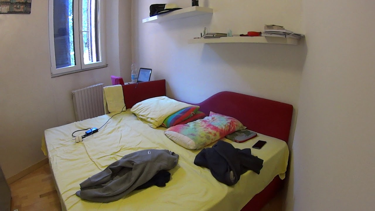 Double bed in Rooms to rent 2-bedroom apartment for rent in Navigli, Milan