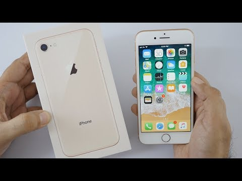 iPhone 8 Unboxing & Hands On Overview - Indian Unit (Hindi)