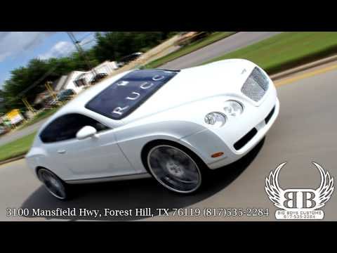 """Bentley GT Coupe on 24"""" Concave Rucci Forged Wheels done by Big Boys Customs!"""