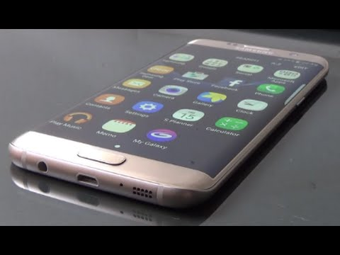 Samsung Galaxy S7 Edge Gold Full Review and Unboxing