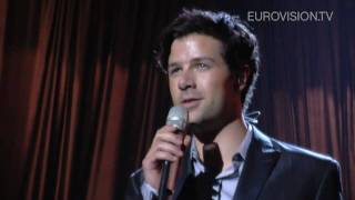 Didrik Solli-Tangen's first rehearsal (impression) at the 2010 Eurovision Song Contest