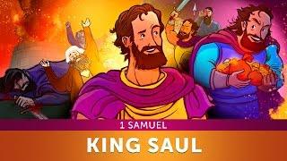Sunday School Lesson for Children - King Saul - 1 Samuel - Bible Teaching Stories for Christianity