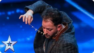 Neil Henry's bowels spell out a yes from the Judges| Auditions Week 7 | Britain's Got Talent 2017