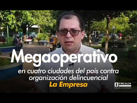 Fiscal Francisco Barbosa: Megaoperativo en cuatro ciudades del país