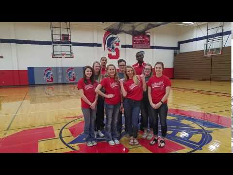 SWCC Student Ambassadors Wake-Up Call--Outtake!