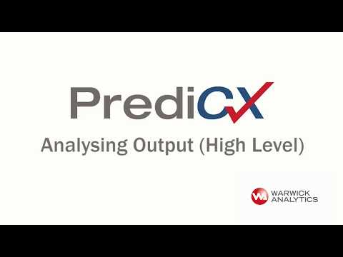 Analyse Your Output in PrediCX (high level)
