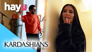 Kim Kicks Girl Out of Scott's Suite | Keeping Up With The Kardashians