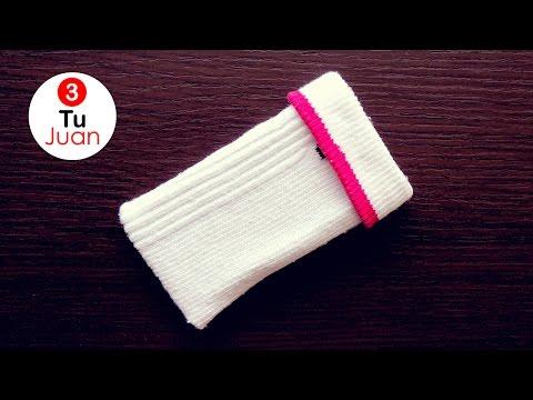 Fundas para Celular con Calcetines - DIY | JuanTu3