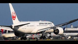 ✈✈台風21号通過後の成田空港強風横風着陸5連発StormCrosswindLandingNaritaRWY16R