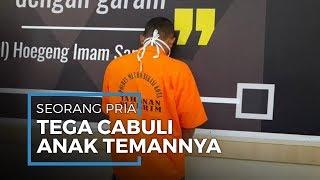 Pria di Bekasi Cabuli Anak Temannya Sendiri yang Berumur 15 Tahun Sebanyak 5 Kali