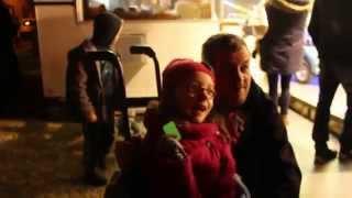 preview picture of video 'feu d'artifice de la parade de Noël de Lagny sur Marne'