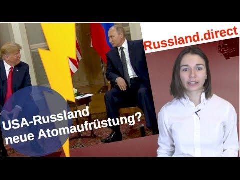 Russland-USA: Neue Atomaufrüstung?  [Video]