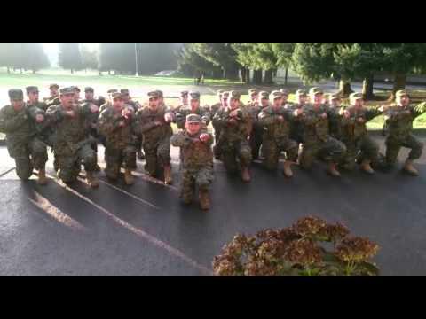 Ejército de Chile grito de combate 5 peloton