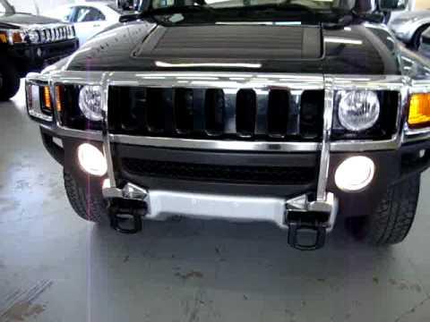 2008 Hummer H3X VEHICLEMAX.NET Black Pearl #30036 Miami FL Used SUVs