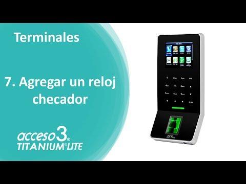 """""""AGREGAR RELOJ CHECADOR ZKTeco"""" en el software de control de asistencia Acceso 3 Lite."""