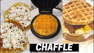 HOW TO MAKE THE PERFECT CHAFFLE /  EGG WAFFLES / USING THE DASH MINI WAFFLE MAKER