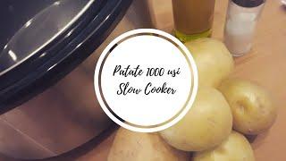 Patate 1000 usi nella Slow Cooker