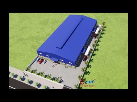 Thiết kế và thi công nhà máy chuyên nghiệp