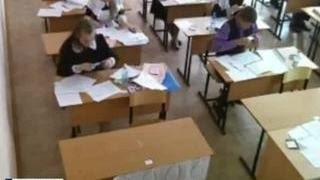 ЕГЭ-2015: камеры сняли, что делают школьники после ухода инспекторов