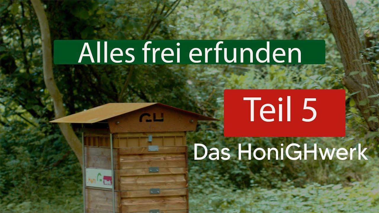 Das HoniGHwerk Teil 5 - Wie sieht`s denn aus im Bienenhaus
