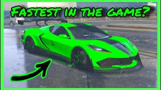 *TOP 5* FASTEST Cars In GTA 5 Online (Top Speed Edition) (Los Santos Summer Special DLC)