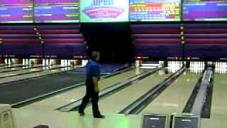 Wayne Webb Bowling At The 2010 USBC Open Championships Event