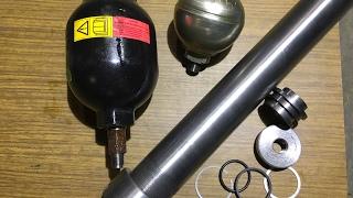 🚜Как ИЗГОТОВИТЬ ПневмоГидроАккумулятор(ПГА)на с/технику👍Экономим На покупке-ремонте 40000₽#19часть