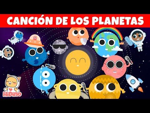 Canciones de los Planetas:Aprende los Planetas