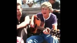 Niall Horan Singing Baby By Justin Bieber