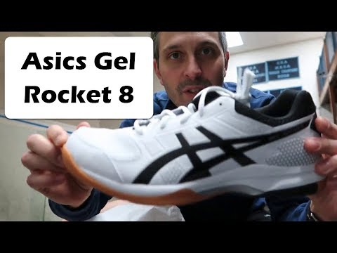 Asics Gel Rocket 8 Review